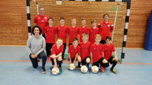 U11 Nina Nouri Fussball Athletiktrainerin Aus Leidenschaft
